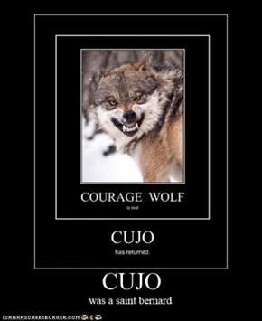Cujo was a saint bernard