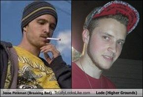 Jesse Pinkman (Breaking Bad) Totally Looks Like Lode (Higher Grounds)