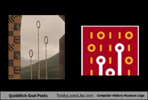 Quidditch Goal Posts Totally Looks Like Computer History Museum Logo