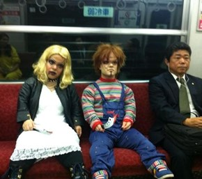 Meanwhile in the Subway