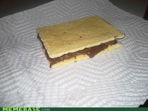 Nutella Pop-Tart Sandwich