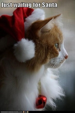 Just waitng for Santa