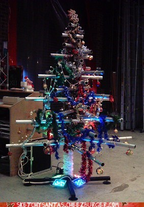 Scaffmas Tree