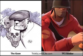 The Goon Totally Looks Like TF2 Soldier
