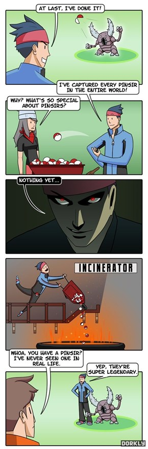 How a Pokemon Becomes Legendary