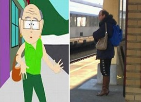 Mr. Garrison IRL