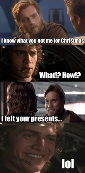 There are no Secret Santas in the Jedi Council