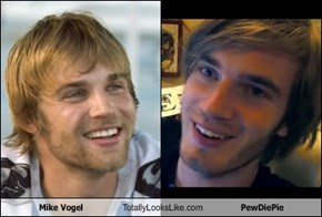 Mike Vogel Totally Looks Like PewDiePie