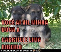 VOCÊ AI VIL MINHA DONA A GABRIELLE LIMA RIBEIRO