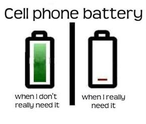 Damn You, Scumbag Battery!