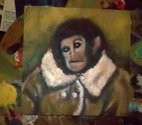 Potato Jesus Meets Ikea Monkey