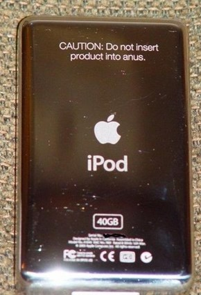 Engraving Your iPod Like a Boss