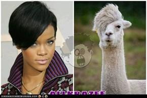 Rihanna/Some Llama