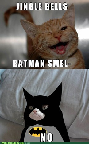 Grumpy Batman