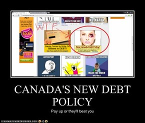 CANADA'S NEW DEBT POLICY