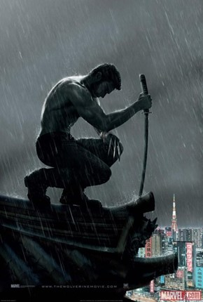 The New Wolverine Movie Poster