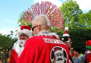 Candy Cane Mohawk is Pretty Badass