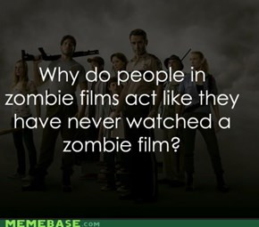 Have you wondered this when you watch zombie films?