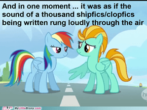 Rainbow Dash x Lightning Dust