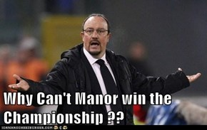 Why Can't Manor win the Championship ??