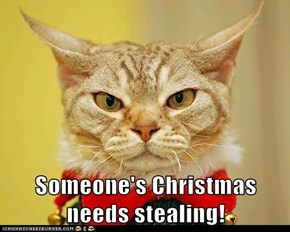 Someone's Christmas needs stealing!