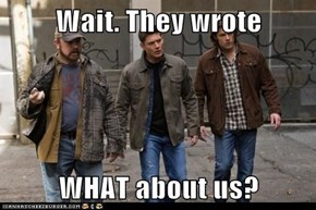 Wait. They wrote  WHAT about us?