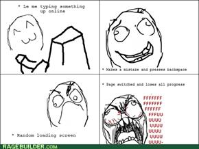 Friggin' backspace!!