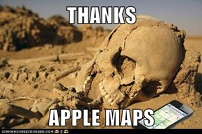 THANKS  APPLE MAPS