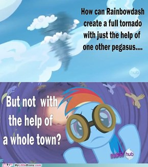 Cartoon Physics: Rainbowdash and tornados