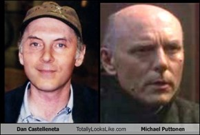 Dan Castelleneta Totally Looks Like Michael Puttonen