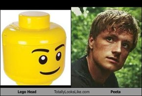 Lego Head Totally Looks Like Peeta