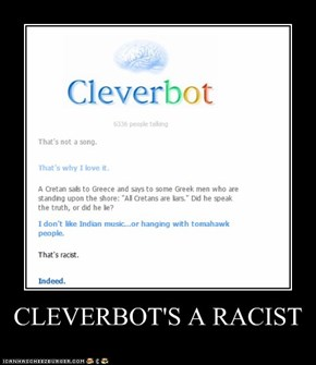 CLEVERBOT'S A RACIST