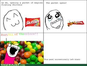 Sort the Skittles!!!