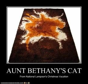 AUNT BETHANY'S CAT