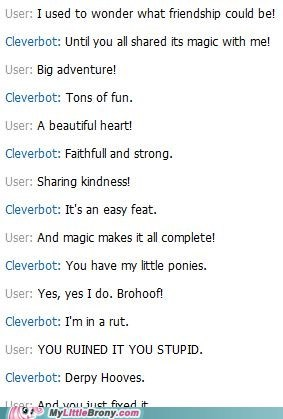 Cleverbot Just Doesn't Know What Went Wrong