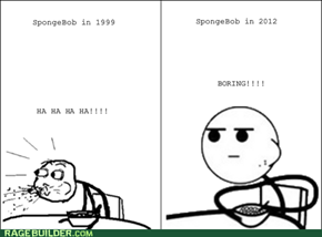 Cereal Guy talks about SpongeBob history