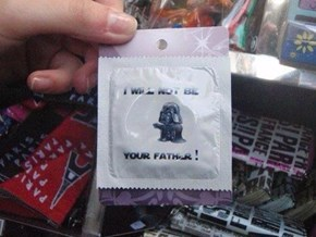 Condoms for Star Wars Fans? I'll Take 'Things That Will Never Get Used' for $200, Alex