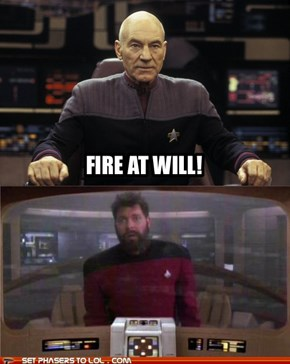 Fire at Will!