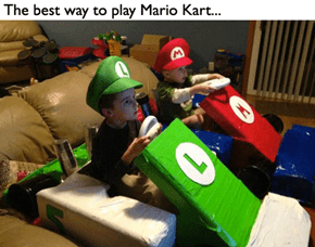 Mario Kart? More Like... Mario Smart!