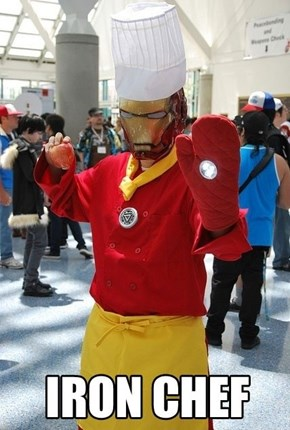 Hey Iron Man, Make Me a Sandwich