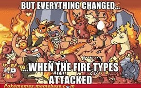 The fire types