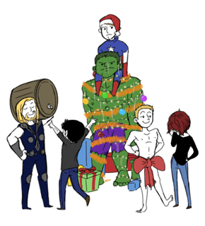 Christmas With The Avengers!