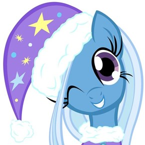 Trixie wishes you a Merry Christmas