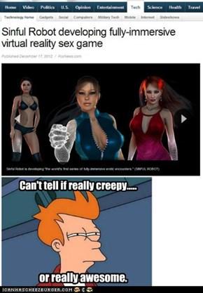 Creepy / Awesome, same thing.