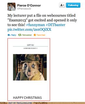 Higher Education : Trolling 101