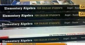 Definitely not an English Textbook