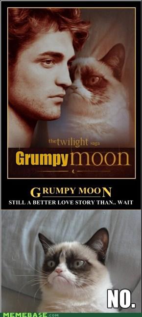 Grumpy Moon