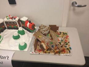 We're Not All Gingerbread Architects