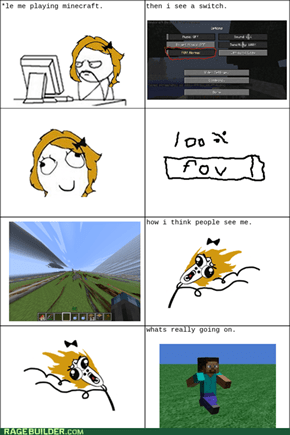 minecraft FOV