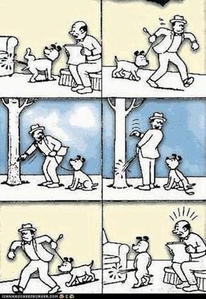 What I nice dog.